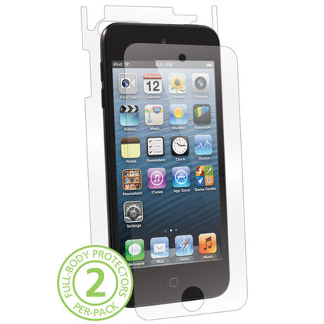 UltraTough Clear Skins Full Body for Apple iPod Touch 5th Gen, , large