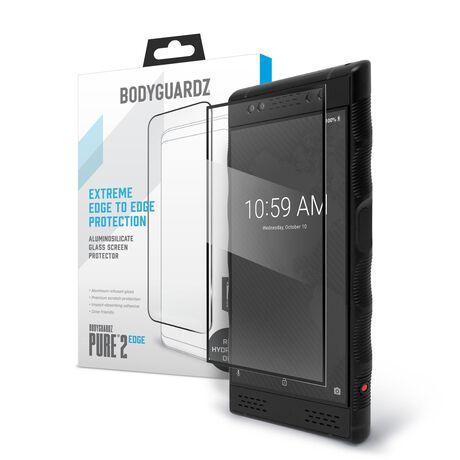 Red Hydrogen One BodyGuardz® Pure® 2 Edge Premium Glass Screen Protector, , large