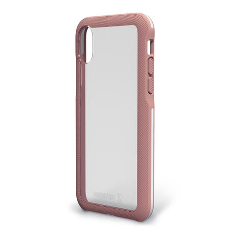 BodyGuardz Trainr Case with Unequal Technology (Rose Gold/White) for Apple iPhone X, , large