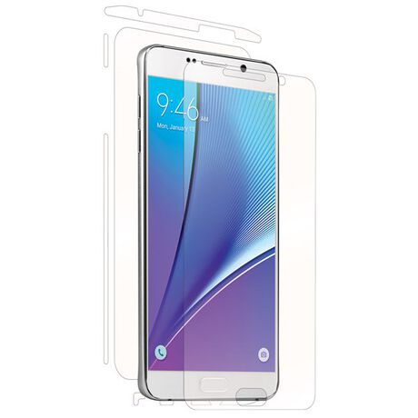 Samsung Galaxy Note 5 Clear Skins Full Body Protection, , large