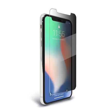 outlet store 88895 dca75 Apple iPhone X SpyGlass 2 (2-way privacy) Tempered Glass Screen Protector