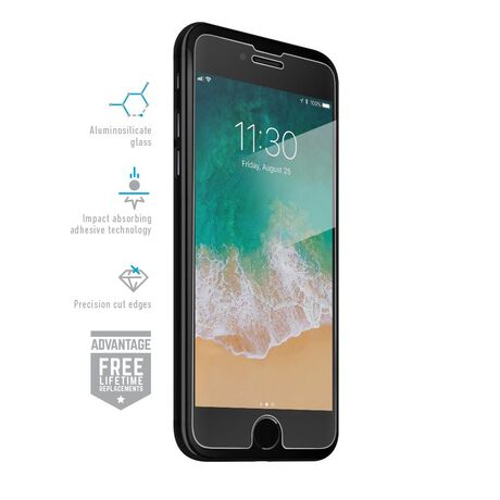 iPhone 8 Clear Tempered Glass Screen Protectors, Covers, & Skins
