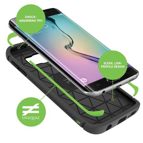 BodyGuardz Shock™ Case with Unequal Technology for Samsung Galaxy S6 Edge+, , large