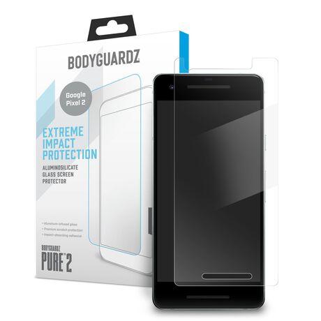 BodyGuardz Pure 2 Glass for Google Pixel 2, , large