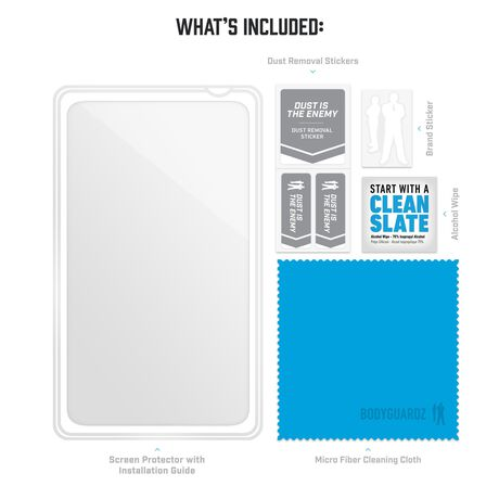 """BodyGuardz Pure 2 Glass for Apple iPad Pro 12.9"""" (3rd, 4th, & 5th Gen), , large"""