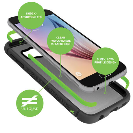 BodyGuardz Contact® Case with Unequal Technology for Samsung Galaxy S6, , large