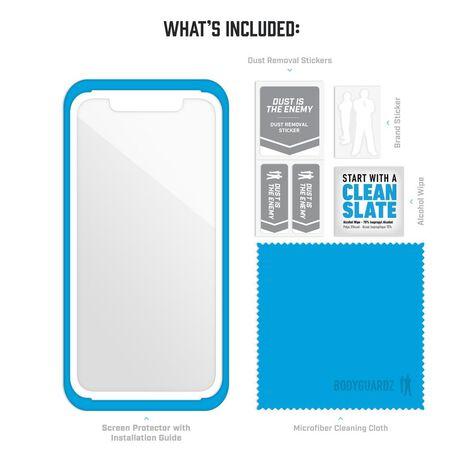 Apple iPhone Xs BodyGuardz® Pure® 2 Premium Glass Screen Protector, , large