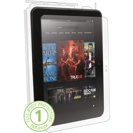 Amazon Kindle Fire HD 8 9 Clear Skins Full Body Protection