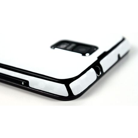 Carbon Fiber armor Full Body (White) for Samsung Galaxy S II Skyrocket, , large