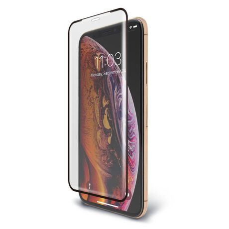 official photos 1a066 ee987 Apple iPhone Xs BodyGuardz® Pure® 2 Edge Premium Glass Screen Protector