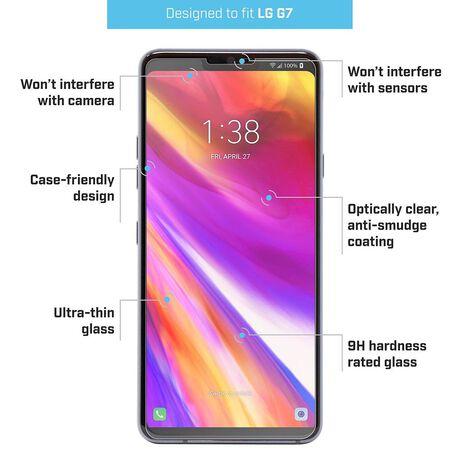 LG G7 ThinQ BodyGuardz® Pure® 2 Premium Glass Screen Protector