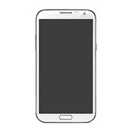 Samsung Galaxy Note II Clear Skins Full Body Protection, , large