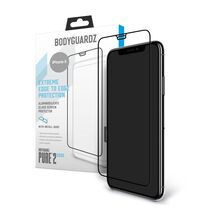 Apple iPhone X BodyGuardz® Pure® 2 Edge Premium Glass Screen Protector