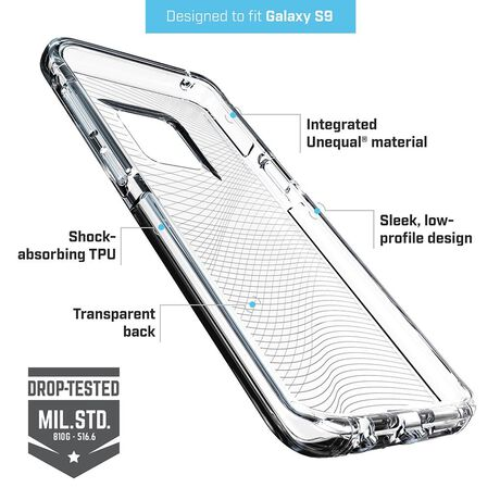 BodyGuardz Ace Fly™ Case with Unequal Technology for Samsung Galaxy S9, , large