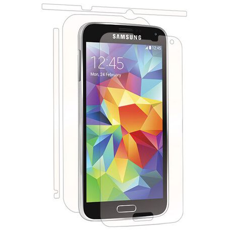 Samsung Galaxy S5 (V) Clear Skins Full Body Protection, , large