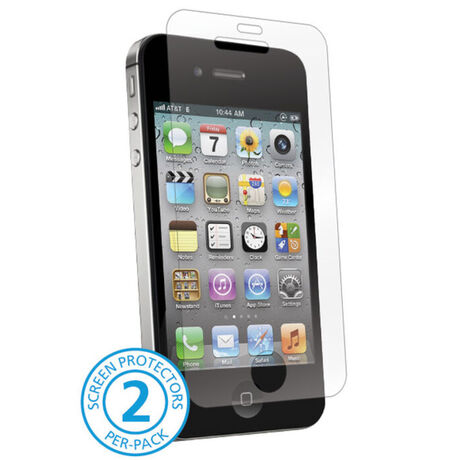 HD Anti-glare ScreenGuardz - Case Friendly for Apple iPhone 4/4S, , large