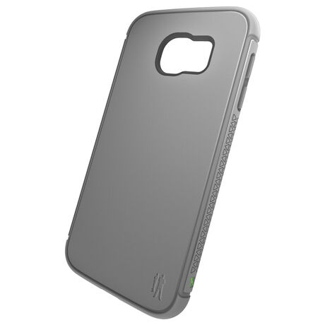 BodyGuardz Shock Case with Unequal Technology (Grey) for Samsung Galaxy S6, , large