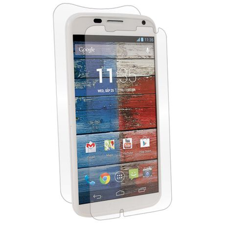 Motorola Moto X Clear Skins Full Body Protection, , large