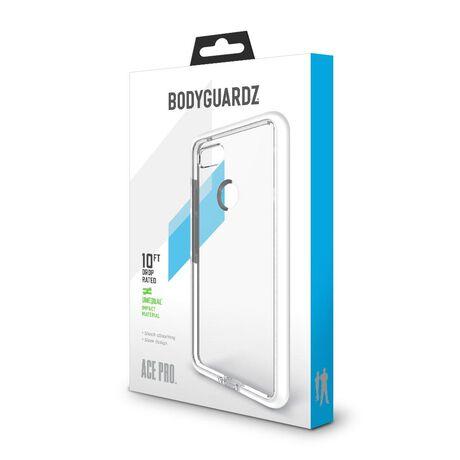 BodyGuardz Ace Pro Case featuring Unequal (Clear/White) for Google Pixel 3 XL, , large