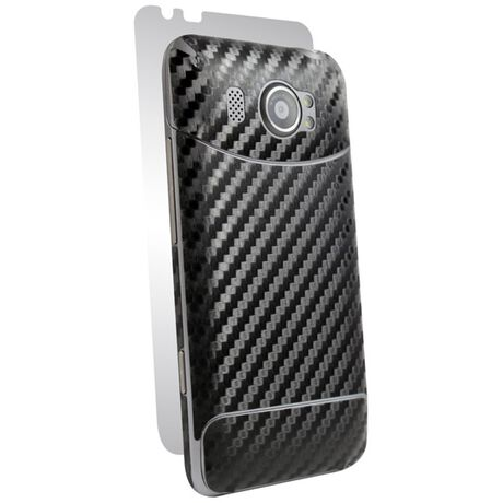 Carbon Fiber armor Full Body (Black) for HTC Titan II, , large
