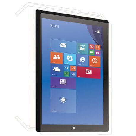 Microsoft Surface Pro 3 Clear Skins Full Body Protection, , large