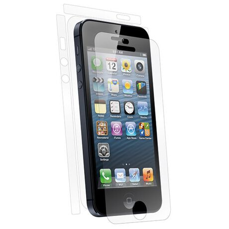 UltraTough Clear Skins Full Body for Apple iPhone 5, , large