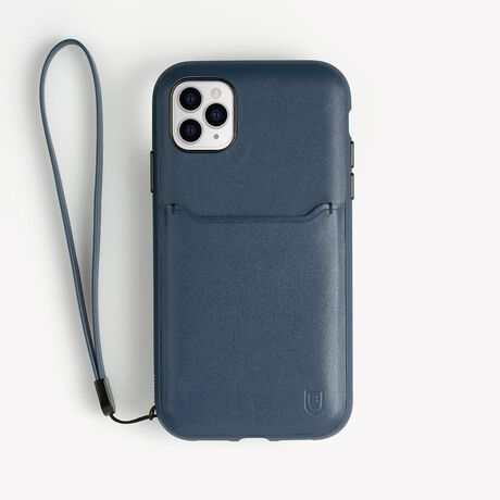 BodyGuardz Accent Wallet Case featuring TriCore (Navy) for Apple iPhone 11 Pro Max, , large