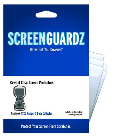 Classic Clear ScreenGuardz for Trimble TSC3 Ranger 3, , large