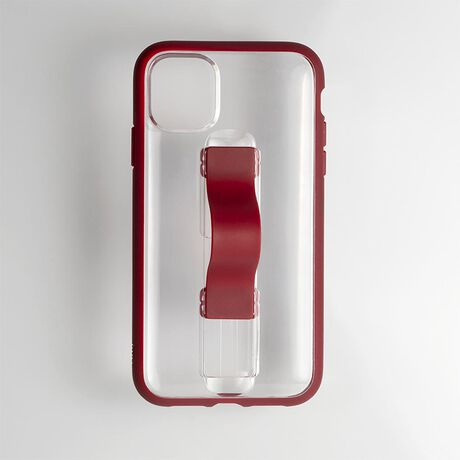 BodyGuardz SlideVue Case featuring Unequal (Clear/Red) for Apple iPhone 11 Pro Max, , large