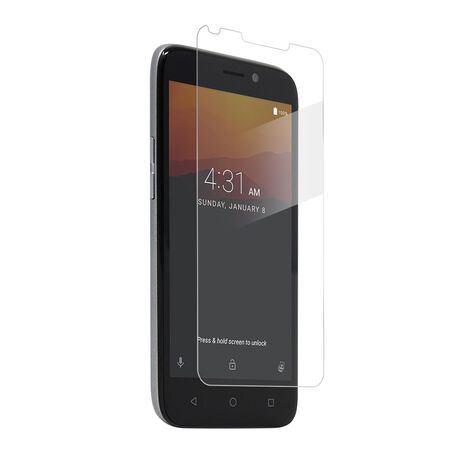 BodyGuardz Pure 2 tempered glass screen protector for ZTE Maven 3, , large