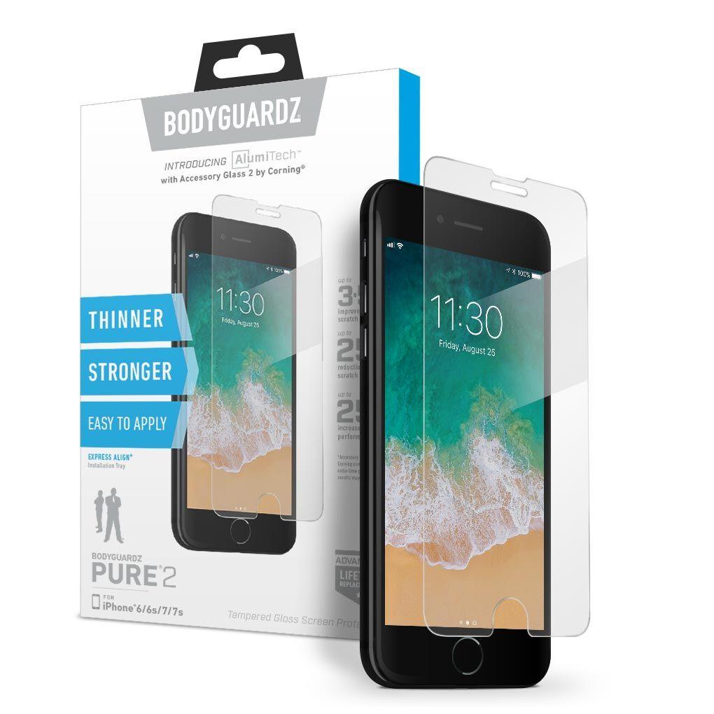 Apple iPhone 8 BodyGuardz® Pure® 2 Premium Glass Screen Protector