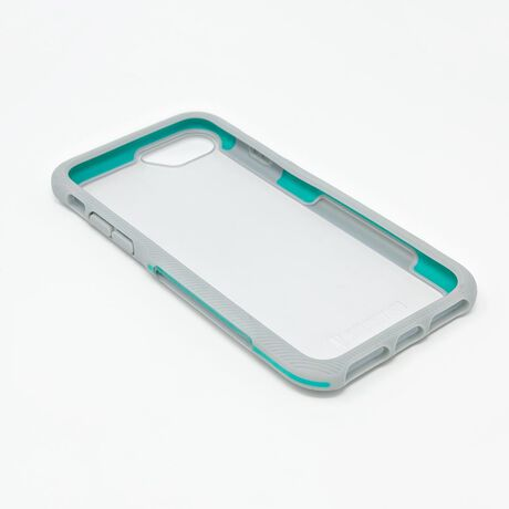 BodyGuardz Trainr Pro Case with Unequal Technology (Gray/Mint) for Apple iPhone 6/6s/7/8, , large