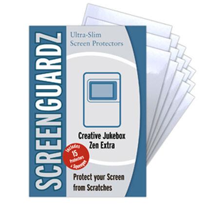 ScreenGuardz for Creative Jukebox ZEN Extra, , large