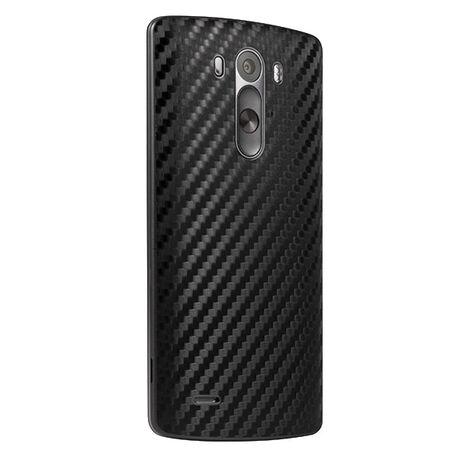 Carbon Fiber armor Back Skin (Black) for LG G3, , large