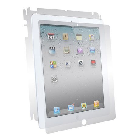 Apple iPad 4 Clear Skins Full Body Protection, , large
