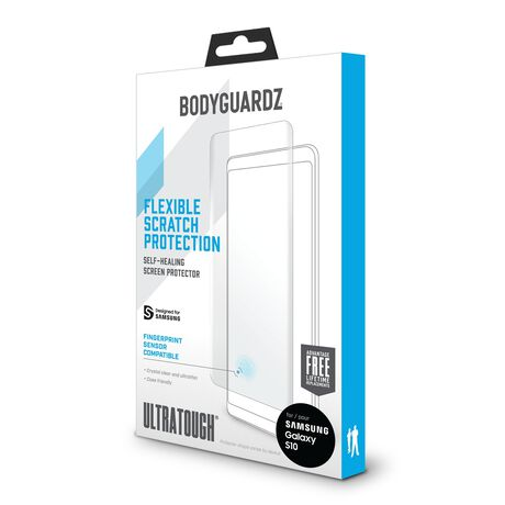 UltraTough Clear Film ScreenGuardz for Samsung Galaxy S10, , large