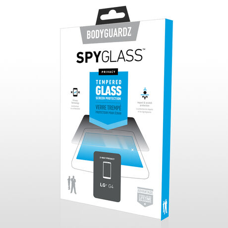 LG G4 SpyGlass® (2-way privacy) Tempered Glass Screen Protector, , large