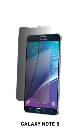 Spyglass privacy phone screen protector for Galaxy Note 5