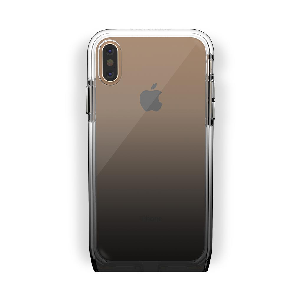 iPhone X/Xs Gold with Harmony Shade Clear Case