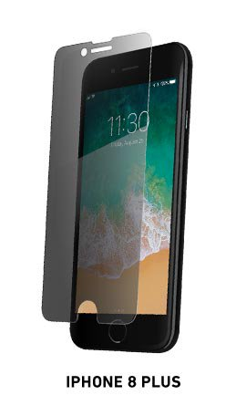Spyglass privacy phone screen protector for iPhone 8 Plus