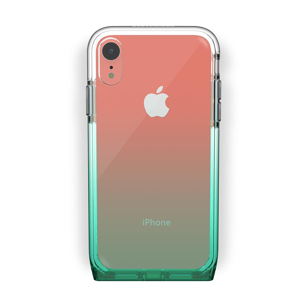 iPhone Xr Coral with Harmony Lucky Clear Case