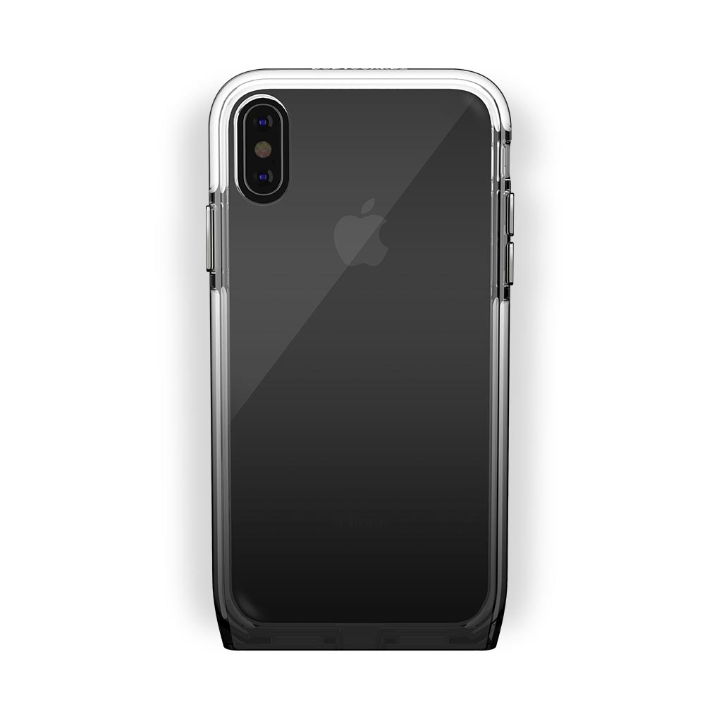 iPhone X/Xs Black with Harmony Shade Clear Case