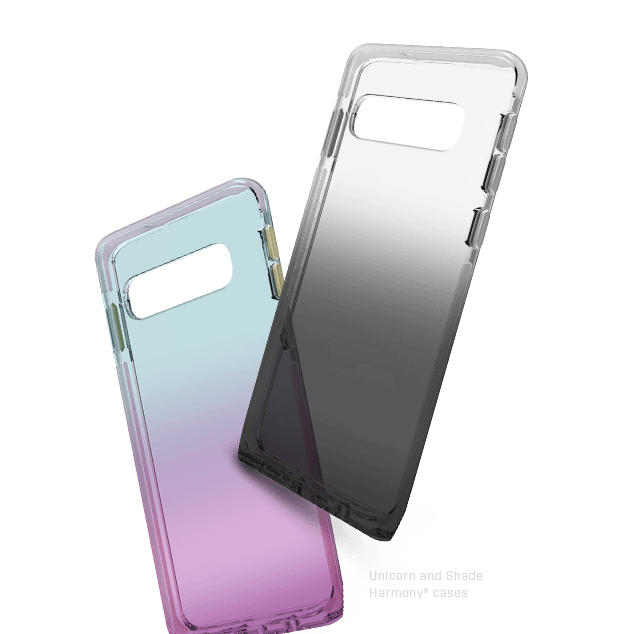 Clear Galaxy S10+ Case and clear black case for S10+