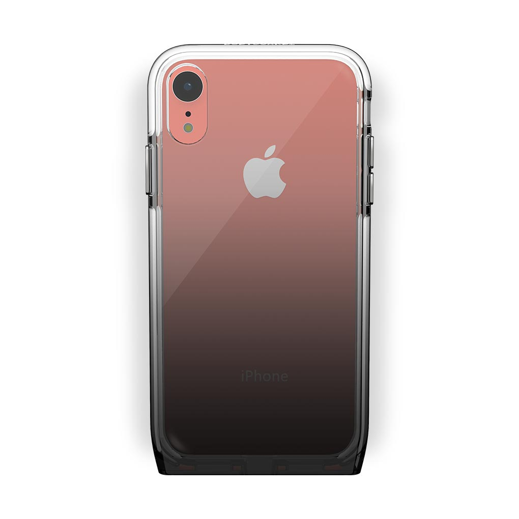 iPhone Xr Coral with Harmony Shade Clear Case