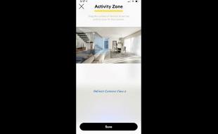 How to setup activity zones