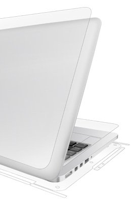 UltraTough® clear phone and tablet skins for MacBooks