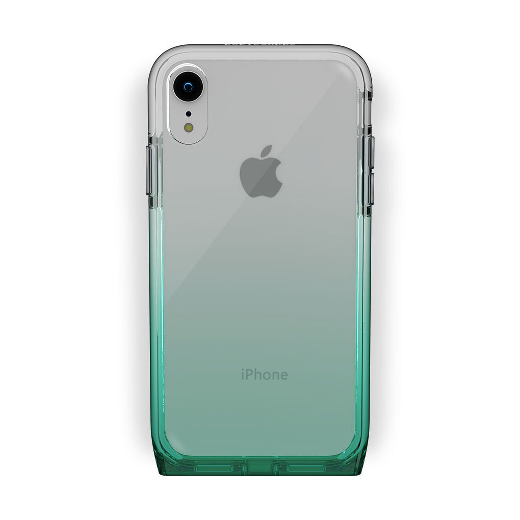 iPhone Xr White with Harmony Lucky Clear Case