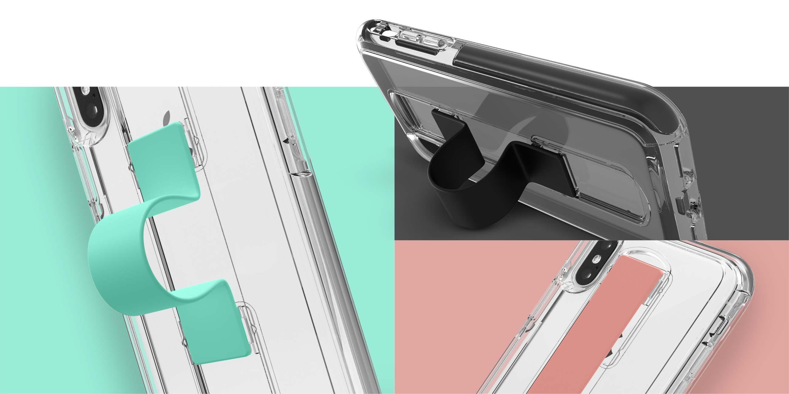 Slidevue fingerloop case comes in several colors