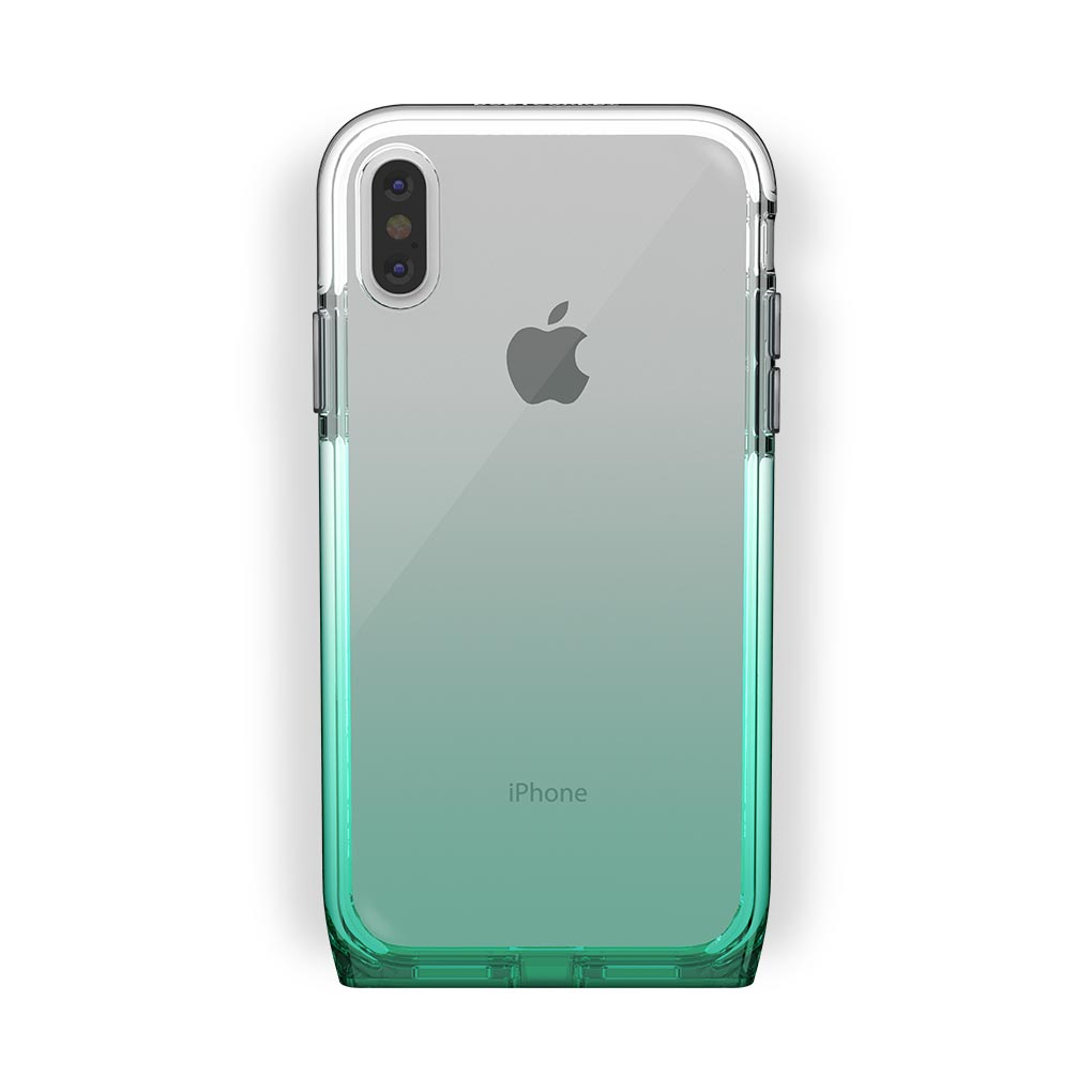iPhone X/Xs White with Harmony Lucky Clear Case
