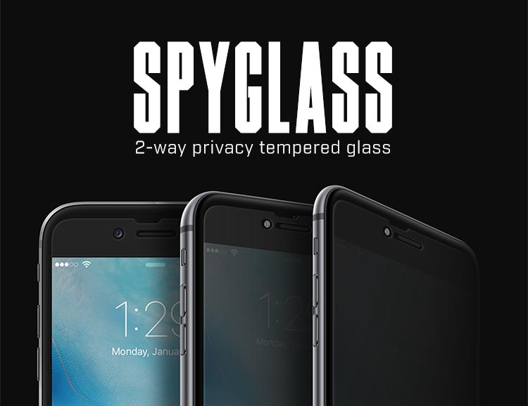 Spyglass privacy phone screen protectors